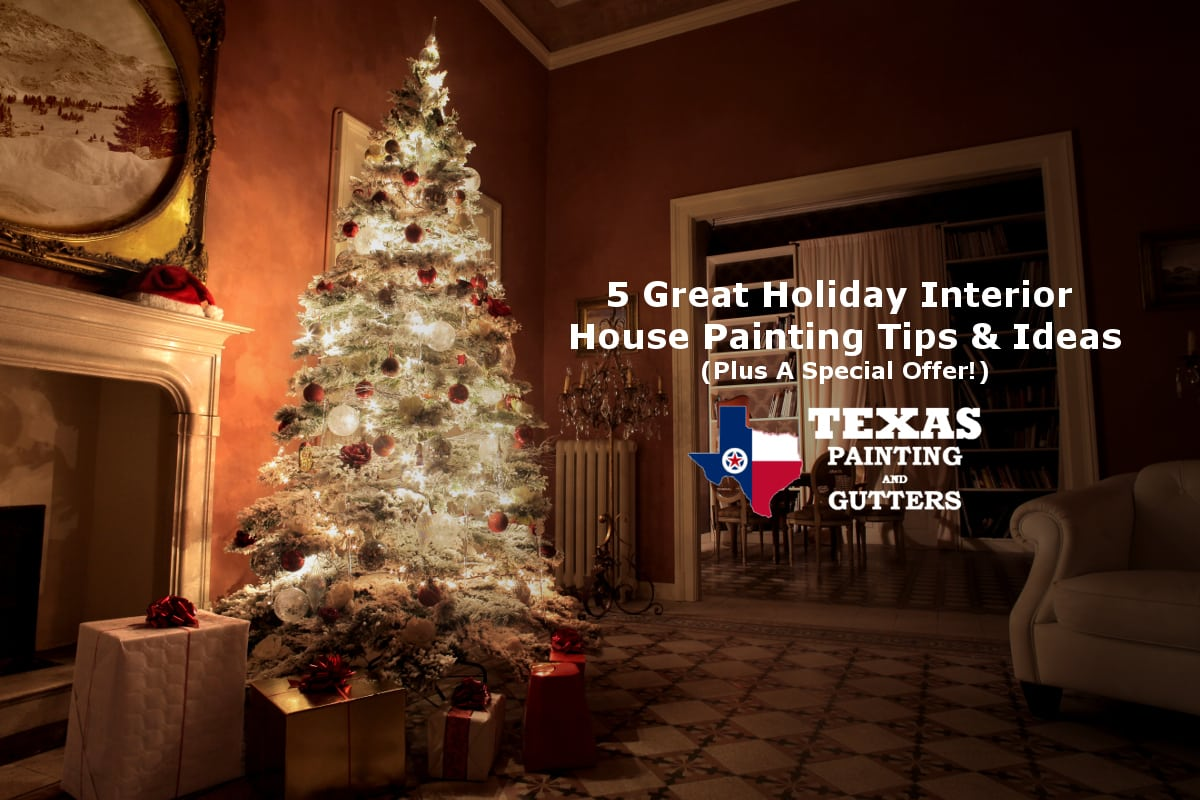 Holiday Interior House Painting Ideas In Plano, TX