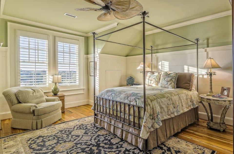 Light Green Bedroom Idea in McKinney, TX